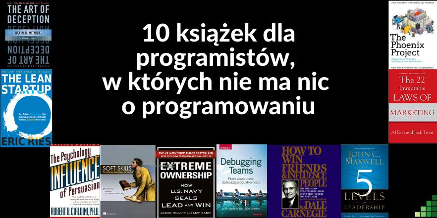 10 książek dla programistów